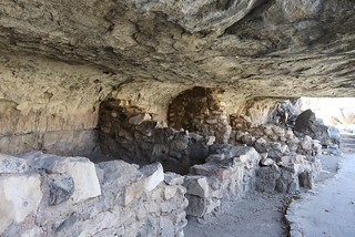 Cliff dwelling rooms