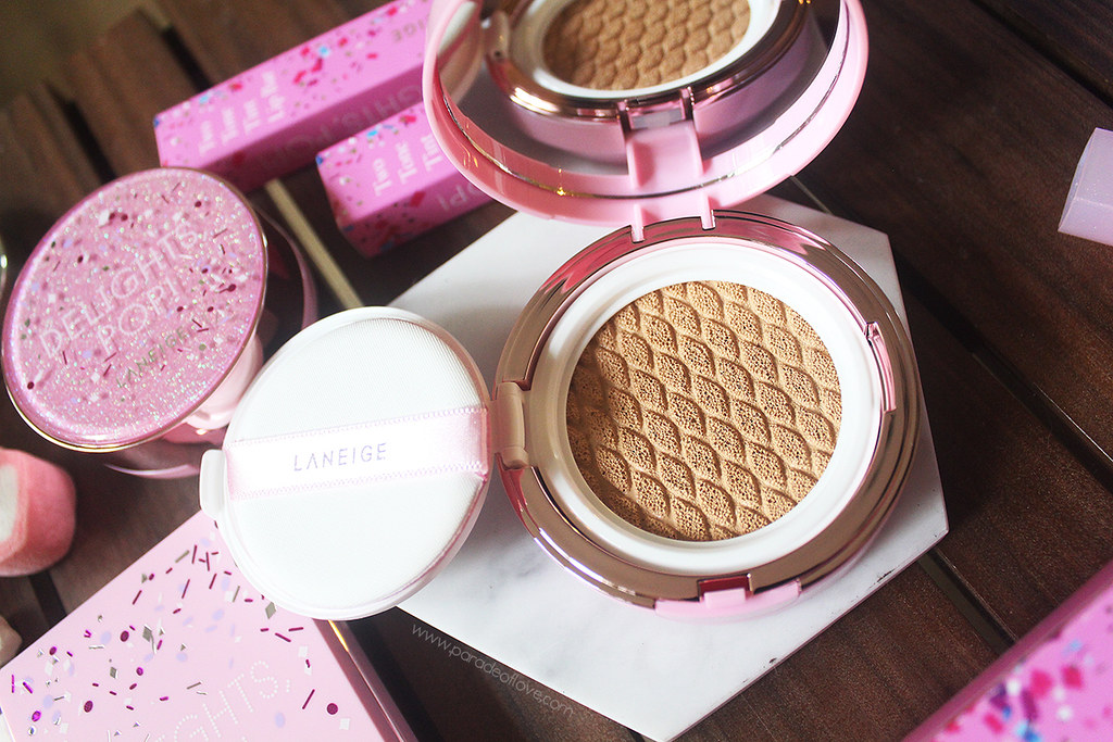 LANEIGE Delights Pop - BB Cushion Whitening 02