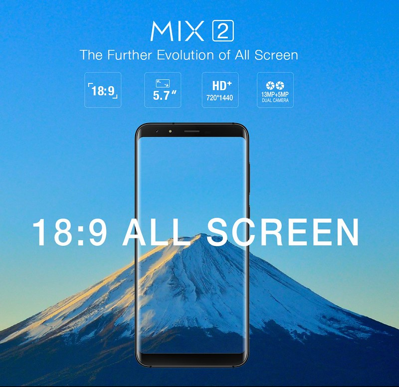 Ulefone Mix 2 レビュー (3)