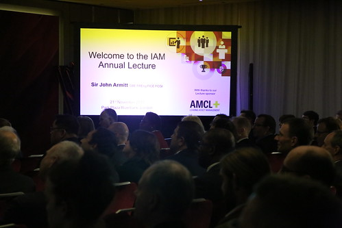 The IAM Annual Lecture 2017