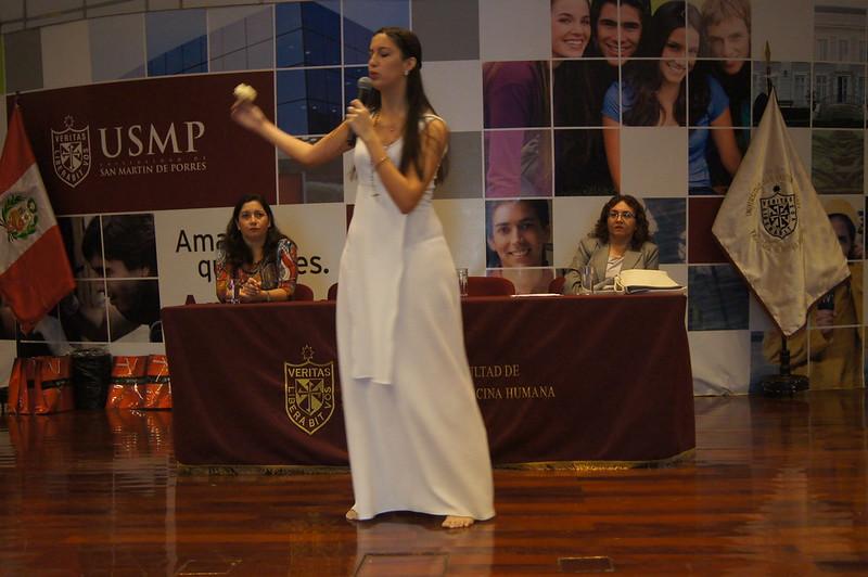 La Facultad de Medicina humana realizó el mes de las Letras-  Cuento y  Poesía.