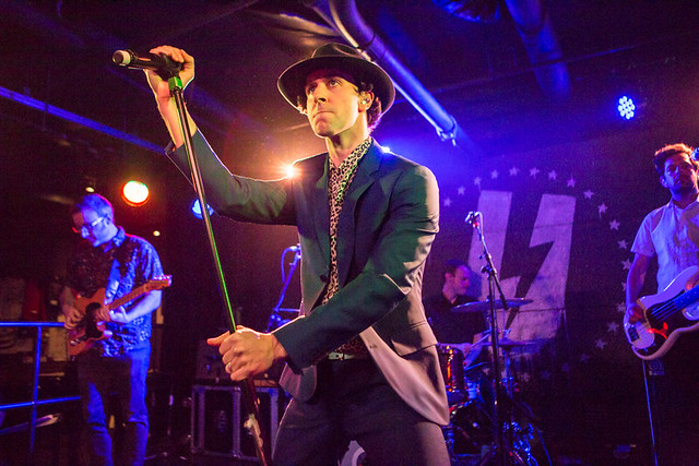 Maximo Park @ U Street Music hall, Washington DC, 11/28/2017