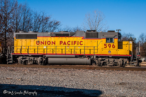 UP 596 | EMD GP38-2 | UP Helena Subdivision