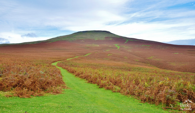 Brecon Beacons National Park Wales - 3 days hiking - Sugar Loaf - Brecon Beacons