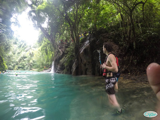 Patty Villegas - The Lifestyle Wanderer - Canyoneering - Badian - Cebu - Cyan Adventures-16