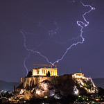 16. November 2017 - 21:25 - Acropolis and lightnings