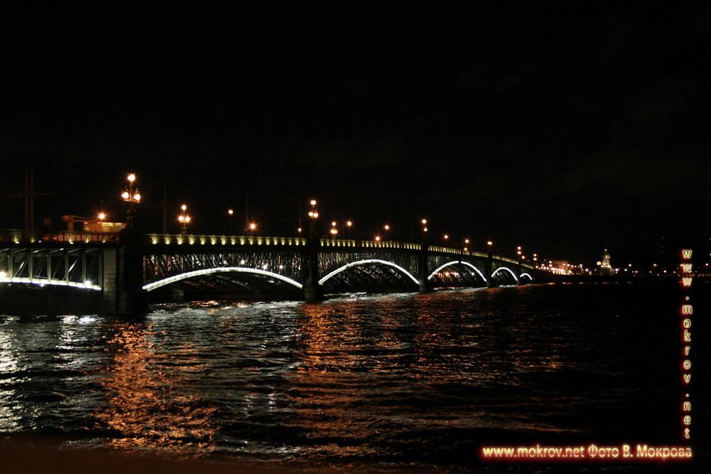 Троицкий мост Санкт-Петербург.
