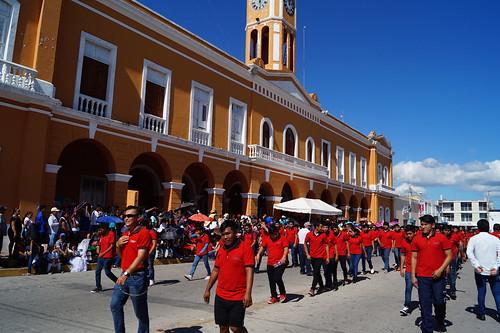 Desfile cívico deportivo de la Revolución Mexicana