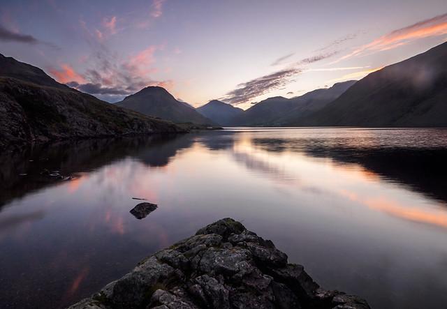 Wasdale dawn calm