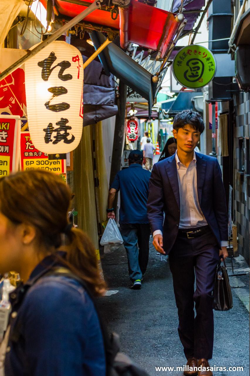 Calles de Dōtonbori, Osaka