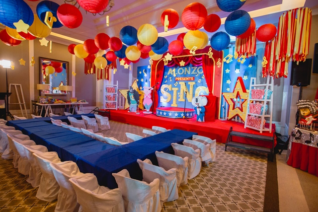 Alonzo S Sing Themed Party 1st Birthday Party Doll Manila