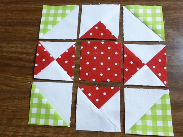 Moda Candy Twist Block at From My Carolina Home