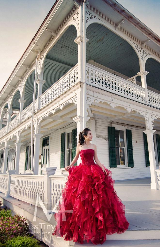 """""""紅色婚紗,拍照婚紗,甜美婚紗,必拍婚紗"""""""