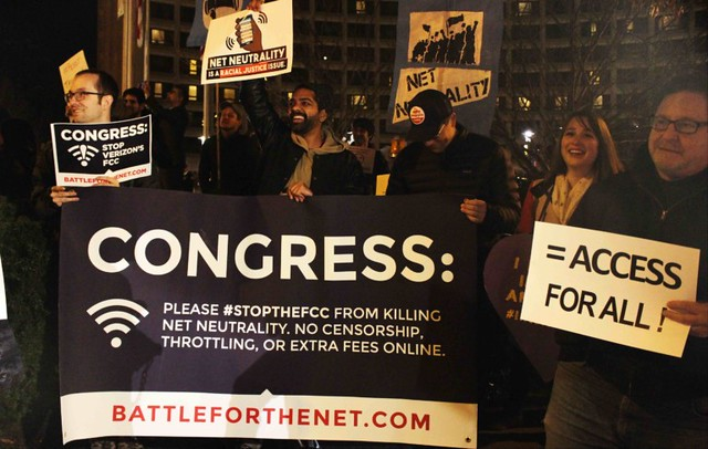 Protest: FCC Chairman's Dinner
