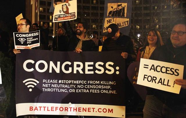 Protest: FCC Chairman's Dinner