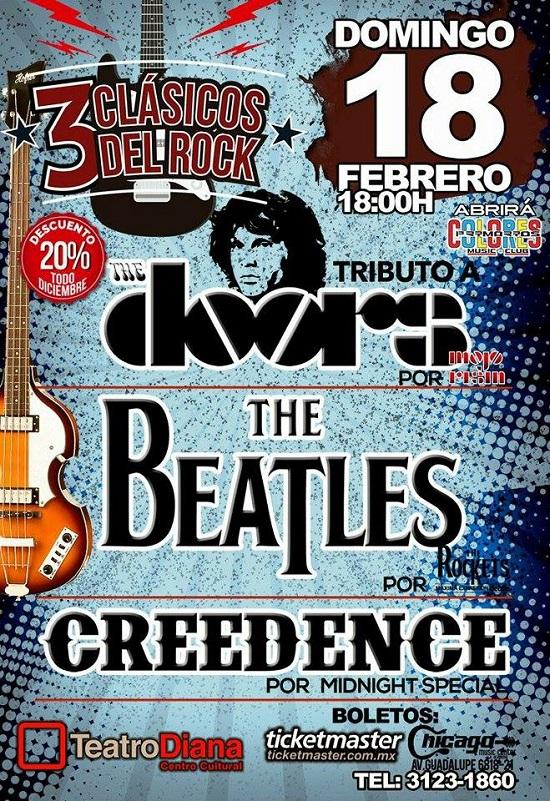 Tres Clásicos del Rock / Teatro Diana