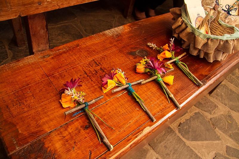 cruces de flores