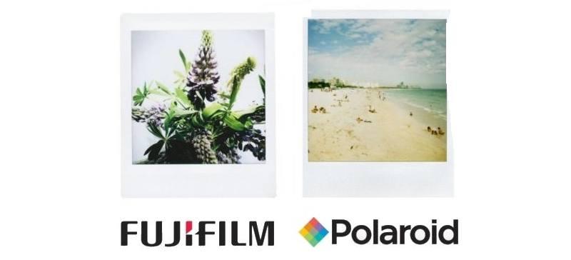 Fujifilm a porté plainte aux États-Unis accusant Polaroid d'exiger des millions de dollars pour la bordure blanche