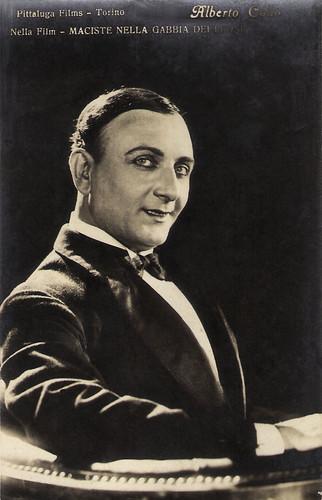 Alberto Collo in Maciste nella gabbia de leoni (1926)