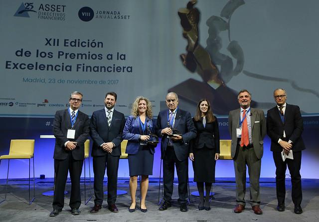 VIII Jornada Anual ASSET Madrid 23 de noviembre 2017 | XII Edición Premios Excelencia Financiera