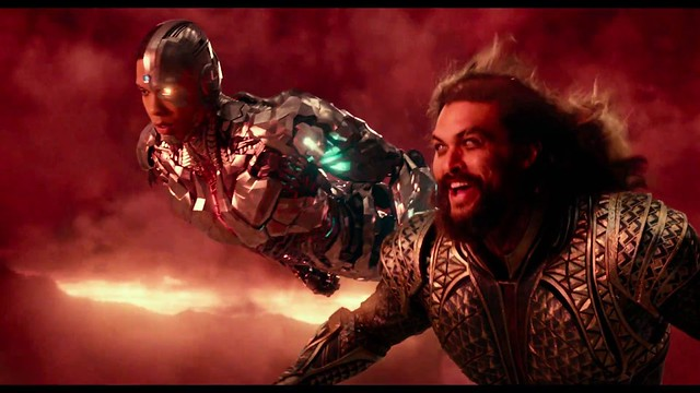 Justice-League-Movie Cyborg Aquaman