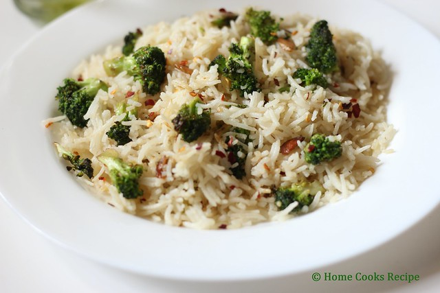 broccoli rice for kids lunchbox