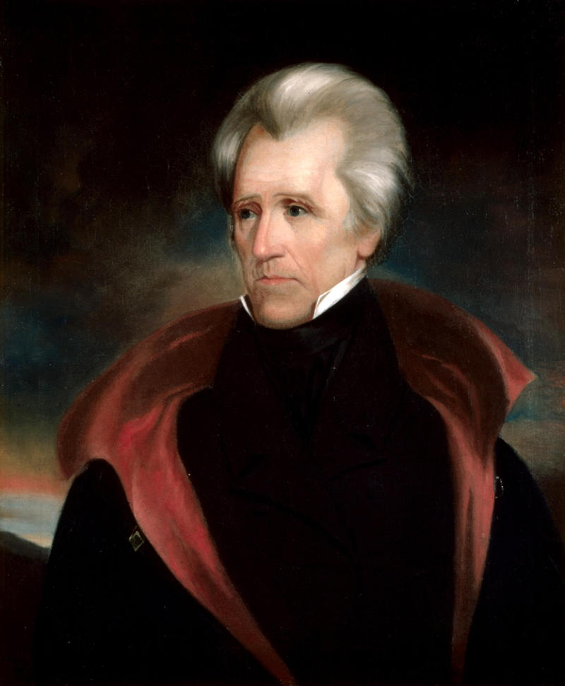 Andrew Jackson, the seventh president of the United States