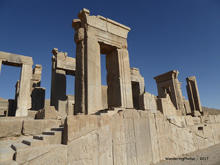 Ruins of the Tachara - Palace of Darius the Great - Persepolis Iran