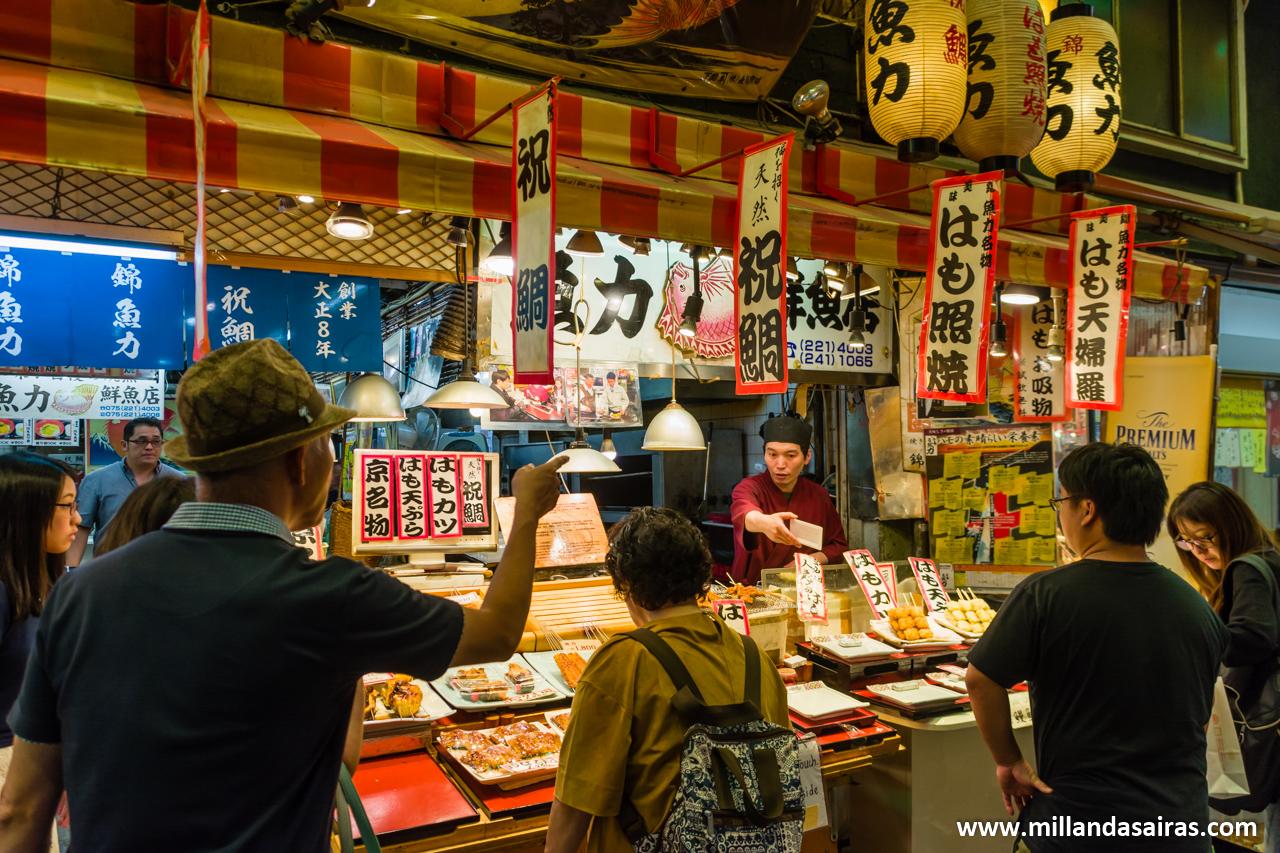 Mercado de Nishiki, Kyoto