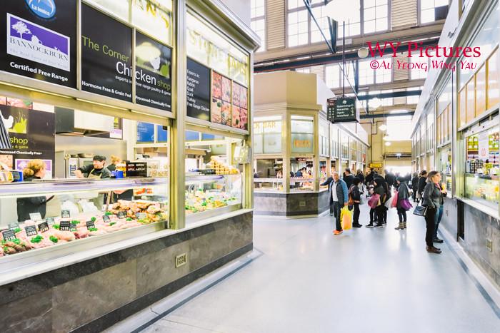 Melbourne 2017:  Queen Victoria Market Grocer Stores