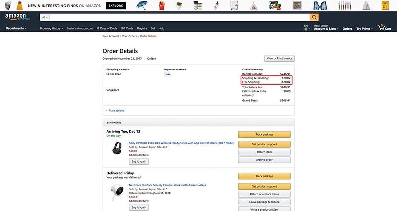 Amazon.com - Order Details