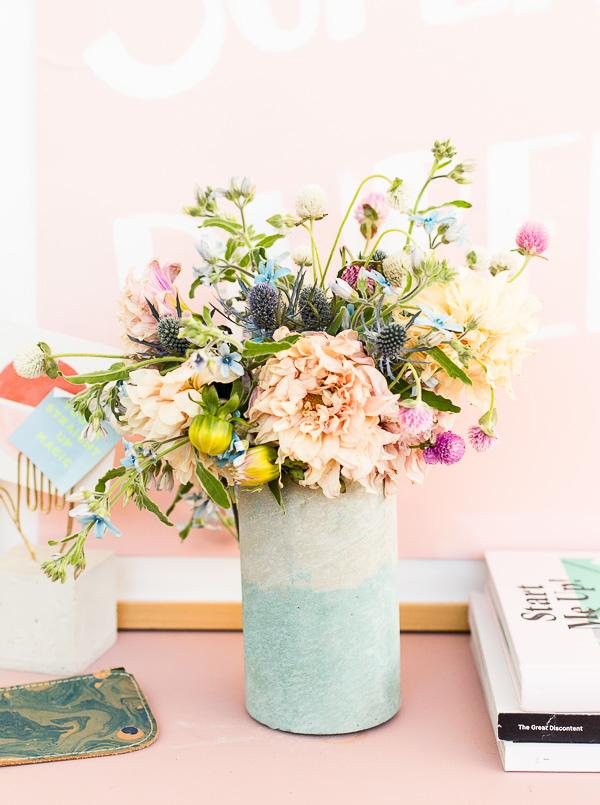 03 diy jarrón flores hormigón manualidades
