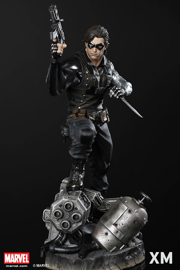 XM Studios Premium Collectibles 系列【酷寒戰士】Winter Soldier 1/4 比例全身雕像作品