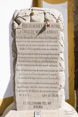 Monolito de la Cruz de Monte Arruit