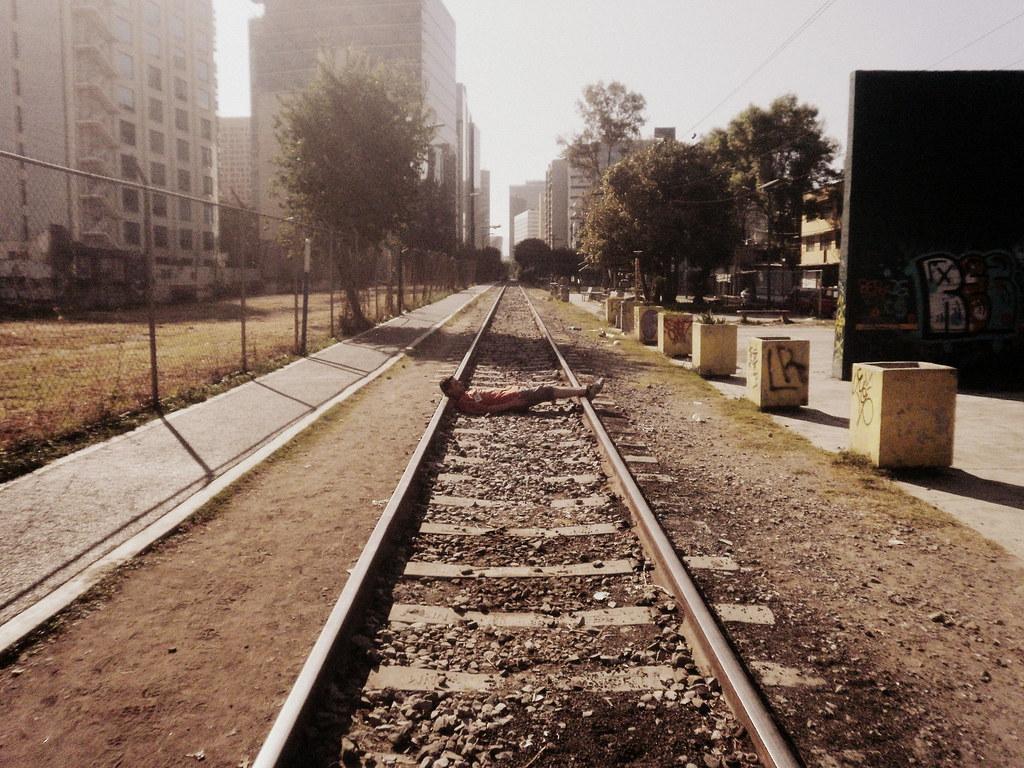 Camino al Jumex