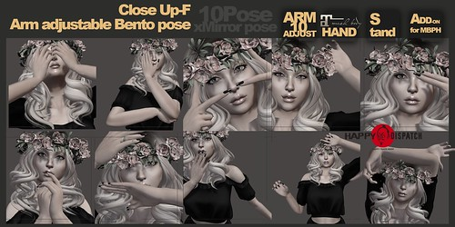 [HD]Arm adjustable Bento pose *Close Up-F*