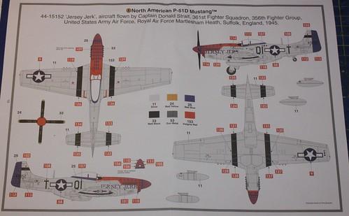 North American P-51D Mustang, Airfix 1/48 38257893182_fcb3a4d11a