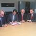 8. November 2017: Unterzeichnung der Planungsvereinbarung für den zweigleisigen Ausbau der Weddeler Schleife