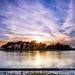 Sunset at Hatchet Pond