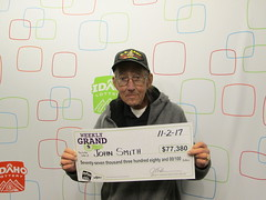 John Smith - $77,380 - Weekly Grand - Boise - Jacksons