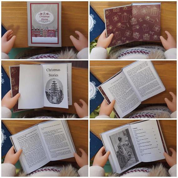 1/3 scale miniature book