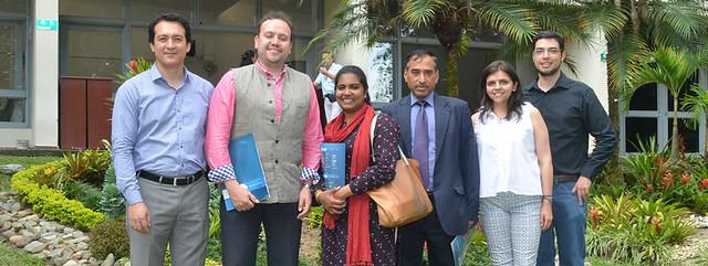 visita delegados embajada india