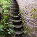 TIMS Mill Tour 2017 UK - Shepherd Wheel - grinding stones stairs-9576