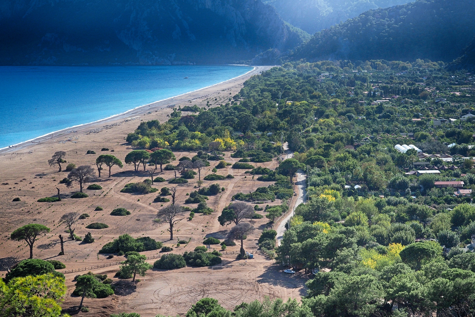 Cirali - View from Lycian Way