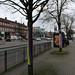 Yarn bombing - Stratford Road, Shirley
