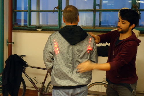Bike Light Jacket workshop Linz
