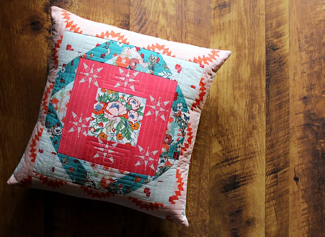 Love Story Moroccan Pillow