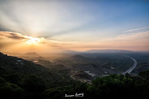中寮山夕陽