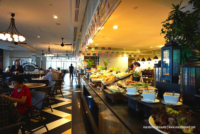 Breakfast Buffet at Sarkies E&O Hotel Penang