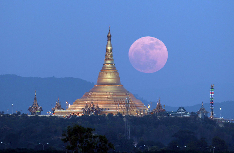 Myanmar Moon